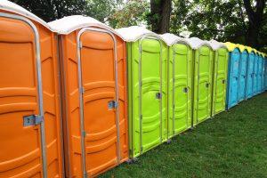 Colorful Porta Potty Rentals