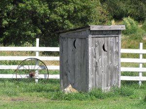 Wooden Porta Potty - Porta Potty Revolution