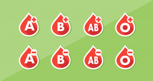 Afford-A-Potty blood donor month, blood types